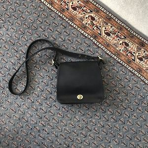 Coach Black Flap Crossbody